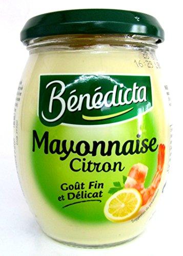 Benedicta Mayonnaise citron mit Zitrone 255 g