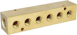 Rehau 267507-101 3//8 Inch Raupex X R-20 Brass Manifold Outlet