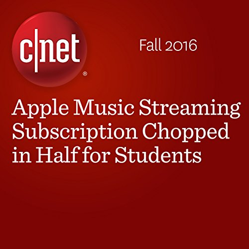 Apple Music Streaming Subscription Chopped in Half for Students  cover art