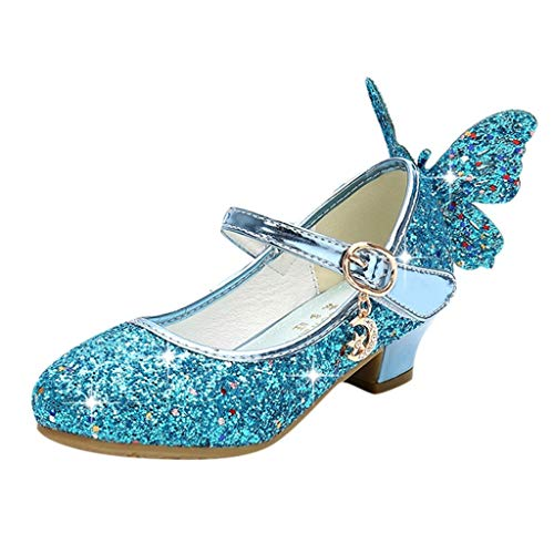 Luckycat Zapatos de Baile Niña Zapatos Bebe Niña con Suela Primeros Pasos...