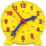 AYWJ Hora Enseñando & Demostración Reloj Modelo, Temprano Educación Aprendiendo Recursos para niños, 4 Pulgadas 12/24 Horas para Mayores de 4 años