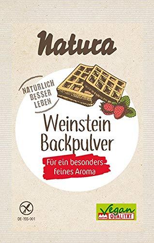 Natura Weinstein-Backpulver 3er-Pack, 54 g