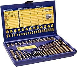 IRWIN Screw Extractor/ Drill Bit Set, 35-Piece (11135ZR)