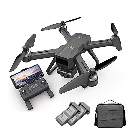Aoile Drone for MJX B20 EIS with 4K 5G WiFi Adjustable Camera Optical Flow Positioning Brushless RC Quadcopter RTF Storage Bag 2 Batteries