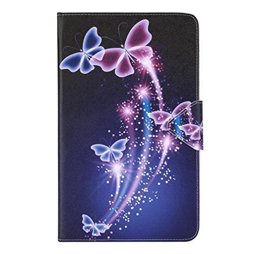 Samsung Galaxy Tab A6 T580N hülle,Slim PU Leder Tasche Cover Schutzhülle Schale Etui für Samsung Galaxy Tab A 10,1 Zoll T580N / T585N Tablet (2016 Version) Hülle Ledertasche mit Standfunktion