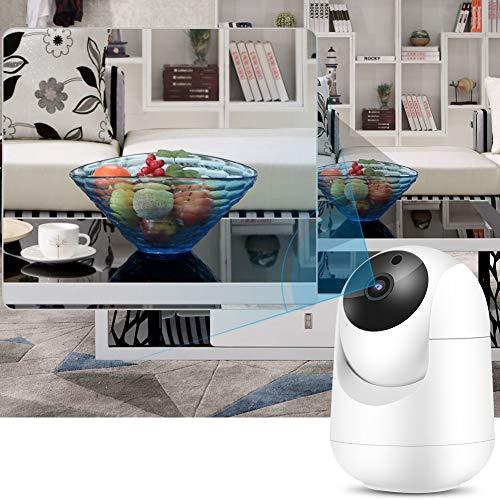 Mothinessto Cámara CCTV Monitor Inalámbrico para Bebés Multidireccional para Monitoreo De Bebés(Normativa Europea)