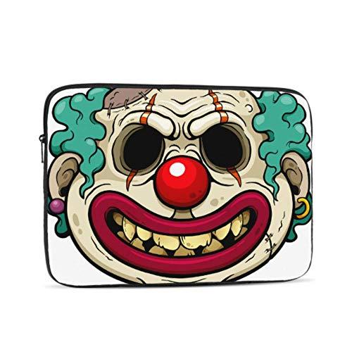 MacBook Air 13 Case Cartoon Clown Zombie Face Laptop Case Mac Multi-Color & Size Choices10/12/13/15/17 Inch Computer Tablet Briefcase Carrying Bag