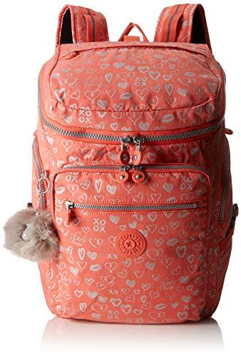Kipling UPGRADE Schulrucksack, 46 cm, 28 Liter, Hearty Pink Met