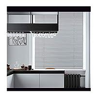 RZEMIN 遮光ロールカーテン 、アルミニウム合金 ルーバー カーテン、 パンチフリー 防水 シェーディング プライバシー ローラーブラインド、 カスタマイズ可能 (Color : Silver, Size : 70cmx150cm)