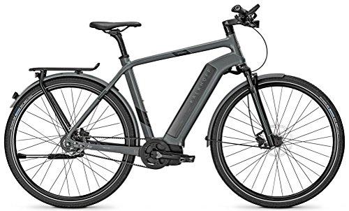 """Kalkhoff Impulse Evo INTEGRALE 8 - Bicicletta elettrica da uomo, 8 g, ruota libera da 17 Ah, 28\"""", altezza telaio: 60; colore: grigio lilla opaco"""