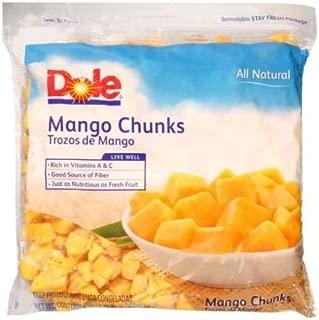Dole Individual Quick Frozen Chunk Mango, 5 Pound -- 2 per case.