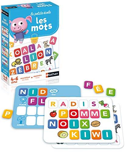 Nathan–31405–Lernspiel zum Erlernen der Worte–Les Mots (französische Version)