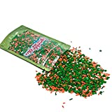 St. Patricks Day won't be as fun with decorative sprinkles to add to the joy. Our fantastic mix of shamrock confetti, orange and green decorettes, silver crystals, and pearls are sure to knock the knee high socks off. This resealable standup candy ba...