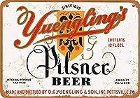 1934 Yuenglingのピルナービールヴィンテージ見金属サイン