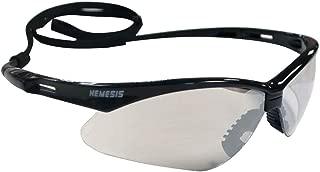 Jackson Safety 3000357 V30 Nemesis Indoor/Outdoor Lens Safety Eyewear, 1-Pack