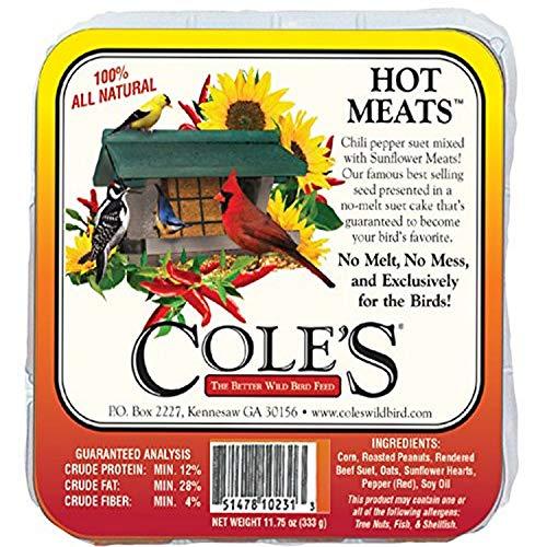 Hot Meats Suet Cake + Frt