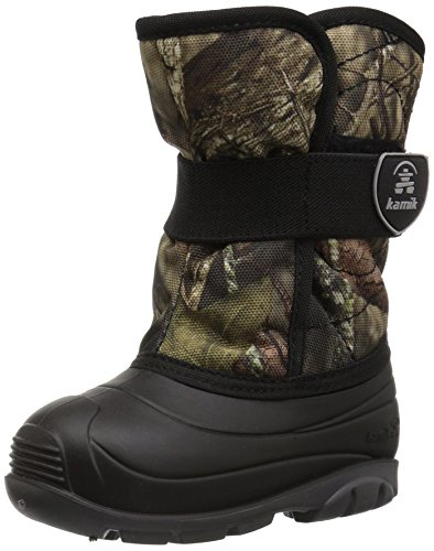 Kamik Unisex Baby SNOWBUG4 Snow Boot, Mossy Oak Country camo, 8 Medium US Toddler
