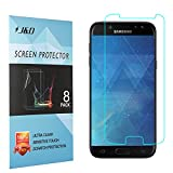 J&D Compatible para 8-Pack Galaxy J5 2017 Protector de Pantalla, [NO Cobertura Completa] Prima Escudo de Película Transparente HD Protector de Pantalla para Samsung Galaxy J5 2017 - [No para J7 2017]