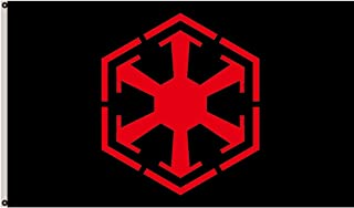 Fyon Sith Empire Flag Banner 12x18inch