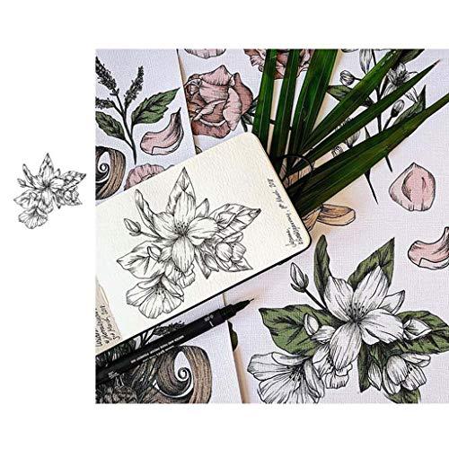 Silikon-Stempel, transparent, Siegelstempel für Kartenherstellung, Scrapbooking, Prägung, Album-Dekoration