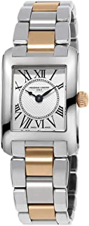 Frederique Constant Classics Carree Quartz Silver Dial Ladies Watch FC-200MC12B