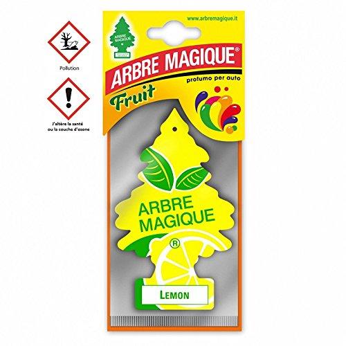 les colis noirs lcn Arbre Magique Citron Lemon - Accessoire Désodorisant Voiture - 379