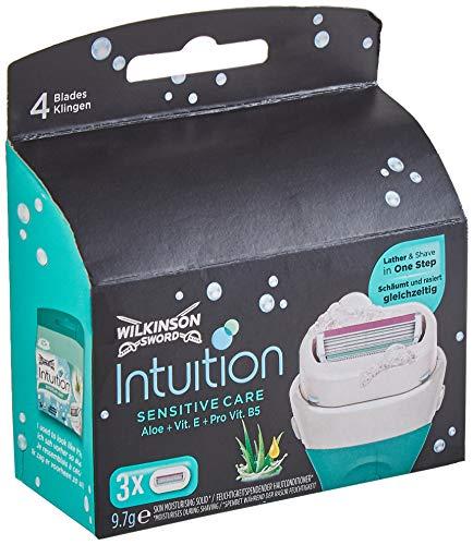 Wilkinson Sword Intuition, varietà per donne, confezione da 4