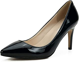 MAIERNISIJESSI Women's Classic Pointed Toe Stiletto High Heel Dress Pumps Shoes