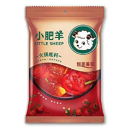 LITTLE SHEEP Tomato Soup Base for HOT Pot 200g (Tomato)