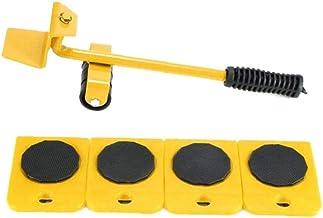 Ladderlift Mover Tool Set Furniture Slider Heavy Duty Meubilair Roller Voor Sofas Couches Koelkasten 5pcs Yellow