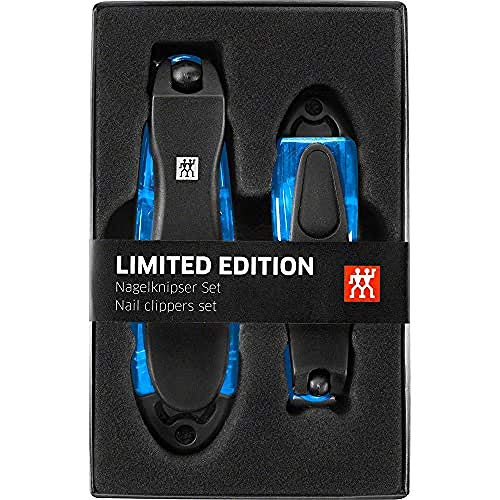 Zwilling 42421-010-0 Classic Inox Nail Clippers Set of 2 Sizes, Blue, 900 g