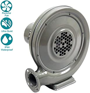 WYHDA Ø79 mm Industrial Centrifugal Blower 750W Commercial Fan Fume Extract Extractor ducting Ventilation Air Box Grow Hydroponics, Air Volume - 1200m3/h