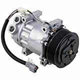 AC Compressor & 8-Groove A/C Clutch For Ford F600 F650 F700 F750 & RV Replaces Sanden SD7H15HD 7804 4848 4474 4730 4371 - BuyAutoParts 60-01723NA NEW