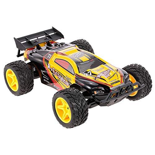 ZCYXQR 2.4GHz 2WD RC Car 1/10 30KM / H Cepillado eléctrico RTR RC Coche de Carreras Vehículo Todo Terreno RC Coche Juguetes para niños Niños (Regalos de cumpleaños y Vacaciones)