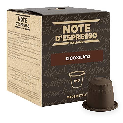 Note D'Espresso Cioccolato Preparato Solubile in Capsule per Bevanda al Gusto di Cioccolato - 280 g (40 x 7 g)