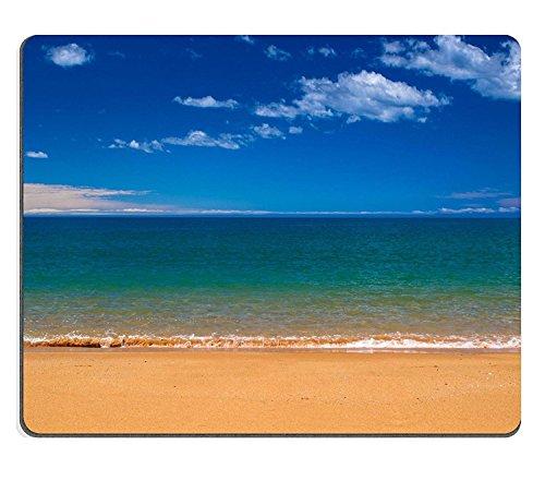 luxlady Caucho Natural Gaming Mousepads Horizon más de océano pacífico en Abel Tasman National Park nueva Zelanda imagen ID 26230123