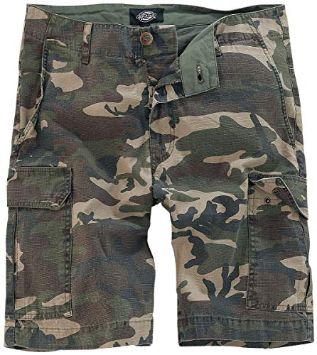 Dickies Herren Shorts New York, Schwarz (Black), W34