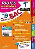 Objectif BAC 1re Enseignements communs + Spécialités Lettres-Langues-Histoire-géo BAC 2020