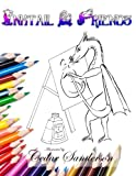 Inktail & Friends: A Coloring Book