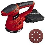Einhell TC-RS 38 E - Lijadora electrónica circular 420 W, 230 V, color rojo y negro (ref. 4462165)