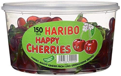 Haribo Happy Cherries, 3er Pack (3x 1.2 kg)