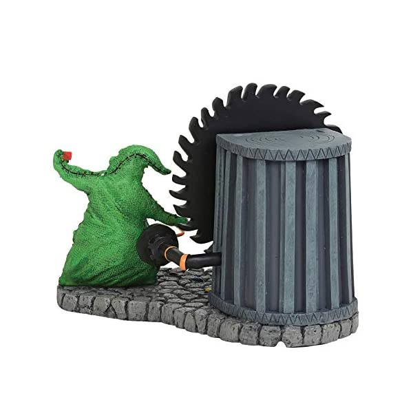 Estatua Oogie Boogie Gives a Spin 11 cm. Pesadilla antes de Navidad. Enesco 3