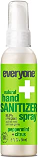 Everyone Hand Sanitizer Spray, Peppermint and Citrus, 2 Fl Oz 6 Count