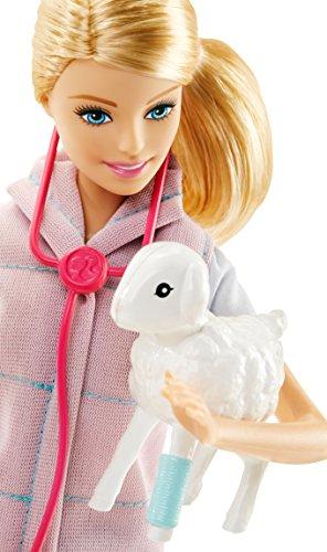 Coffret de Jeu Barbie Vétérinaire de Ferme - 1