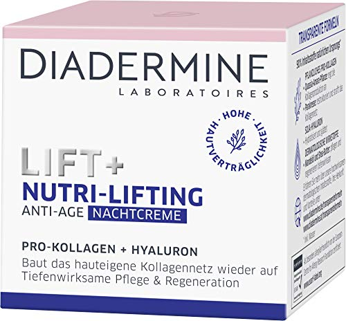 Diadermine Lift+ Nutri-Lifting Nachtcreme, 1er Pack (1 x 50 ml)