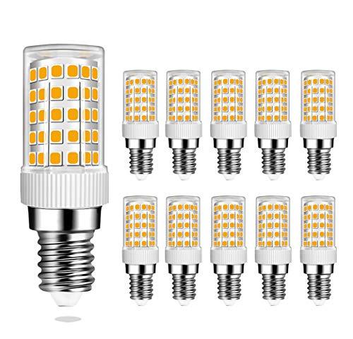 MENTA E14 LED Lampe Warmweiß 3000K mit 86 SMD LEDs, 10W Ersatz 80W Halogenlampen, 800LM, 360° Abstrahlwinkel, E14 LED Birne, 10er Pack