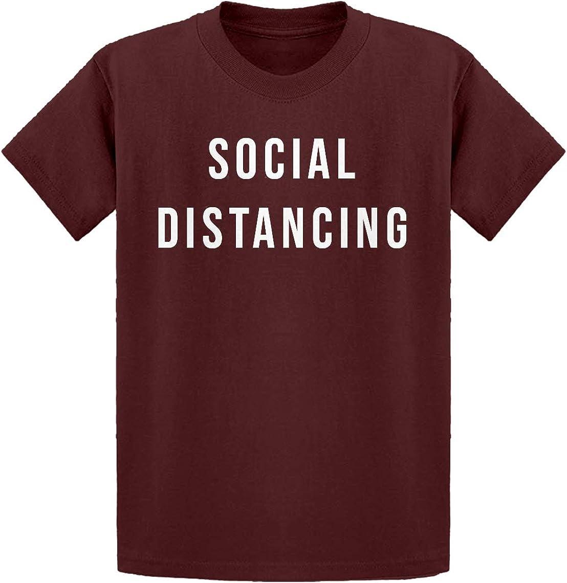Indica Plateau Social Distancing Kids T-Shirt