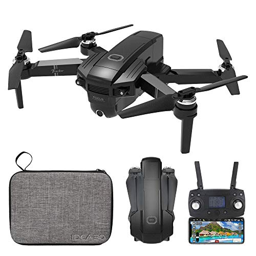 le-idea GPS Drone with 4K UHD Camera for Adults, IDEA30 Quadcopter with Brushless Motor, GPS Stabilizer, 20 Minutes Flight Time, 5G WiFi Transmission, Optical Flow Positioning, LED Display Remote