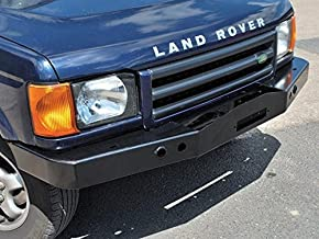 LAND ROVER DISCOVERY 2 1999-2004 HEAVY DUTY FRONT STEEL BUMPER WITH WINCH MOUNT PART: DA5645