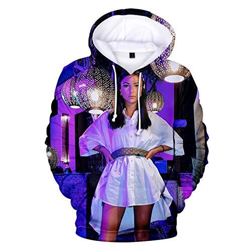 CCEE Harajuku Belle Eva Queen Sweat À Capuche Imprimé 3D Sweats Garçons/Filles Sweat Mignon À La Mode Populaire Cosplay Couples Chandails